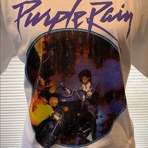 Prince vintage print Purple Rain t-shirt